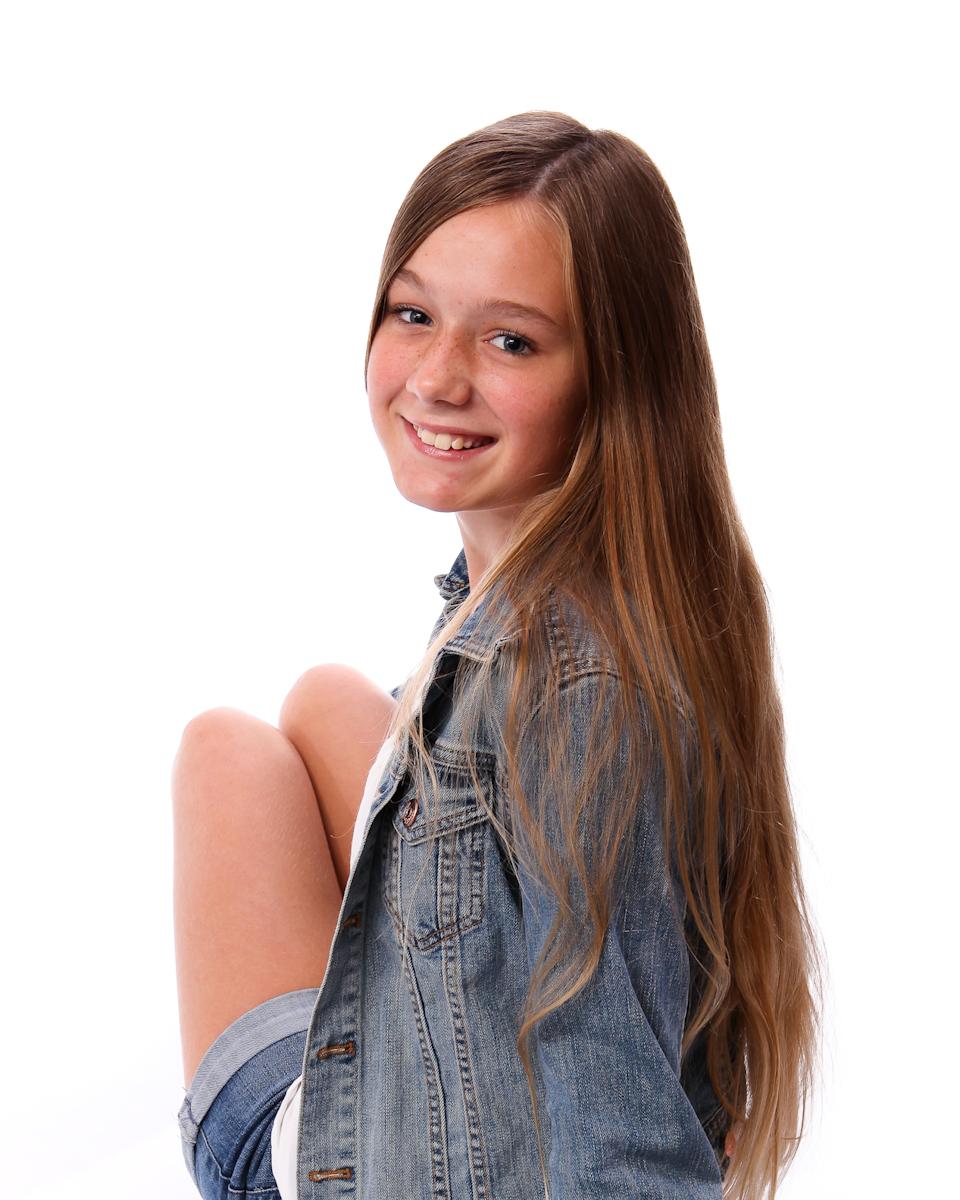 Porträtt på barn från Studio Jätteliten. Fotograf Filip Leo, Linköping.